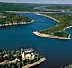 Zámek Orlík nad Vltavou a Orlická přehrada