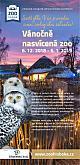Weihnachtsbeleuchtung in Zoo Garten Hluboká