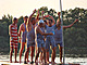 Zavírání plavecké sezóny v Třeboni