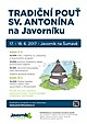 Tradiční pouť sv. Antonína na Javorníku